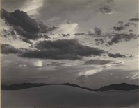 white sands, new mexico by edward weston