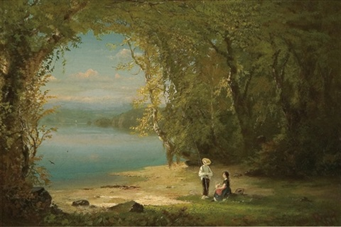 afternoon fishing by richard william hubbard