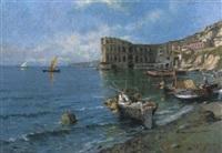 pescatori a palazzo donn'anna by roberto scognamiglio