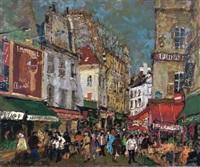 morning market in paris by yukio kodama