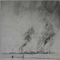 rain and smoke, leverkusen by robert s. austin
