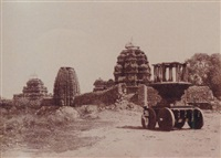 purudkul. group of temples, with idol car, pl.lix by thomas biggs