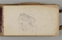 carnet de 1879-1881 (sketchbook w/c.50 works) by pierre bonnard