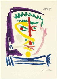 fumeur iii by pablo picasso