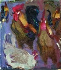 galli e galline by armando spadini