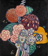 garden bouquet by charles rennie mackintosh