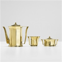 coffee service (set of 3) by eliel saarinen and j. robert f. swanson