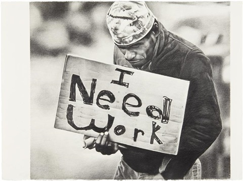 untitled i need work by karl haendel