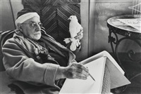 henri matisse by henri cartier-bresson