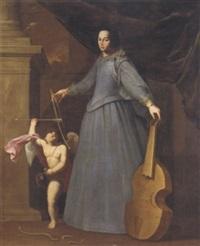 ritratto della cantante leonora baroni by fabio della corgna