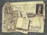 trompe-l'oeil du phare de la loire by isidore astruc