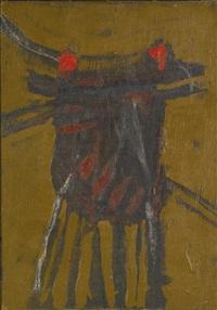 artwork 1960 by roger hilton