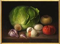 bodegón, verduras y huevo by armando ahuatzi