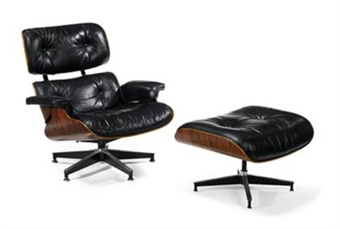 ES 670 Lounge chair ottoman 2 works by Charles and Ray Eames on artnet