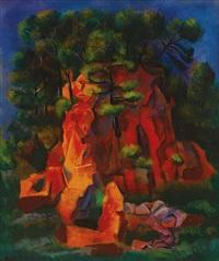 paysage de sanary by moïse kisling