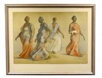 walking women by francisco zúñiga