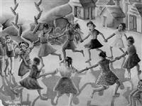 ronde des enfants by wilson bigaud