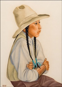 young blackfeet by winold reiss