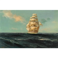 the red jacket (clipper ship) by donald brett