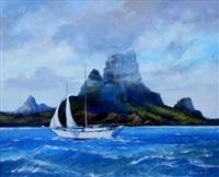 au large des îles by olivier denato