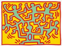 growing 2 by keith haring