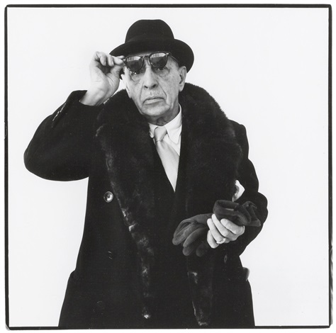 igor stravinsky new york january 8 by richard avedon