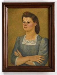 retrato de dama by emilio rosenblueth