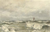 a panoramic seascape by betzy akersloot-berg