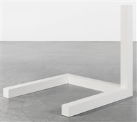 incomplete open cube four part variation no.2 (4-2) by sol lewitt