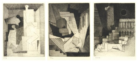 aurelia portfolio of 10 by louis marcoussis