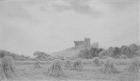 castle rushen, castletown, isle of man by henry hilton