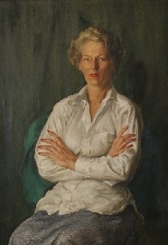 lady in the white shirt by william joshua smith
