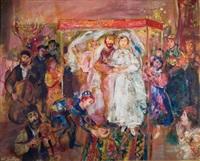 jewish wedding by walter spitzer