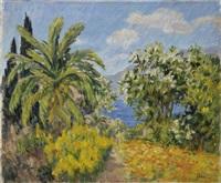 arbres près de la mer by marie-lucie nessi-valtat