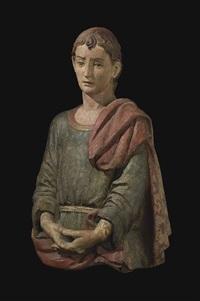 saint john the baptist by agnolo di polo