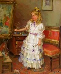 painting time by vladimir gusev