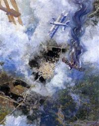 battaglia aerea by alfredo ambrosi