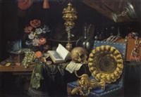 allegoria della vanitas by cornelis de bryer