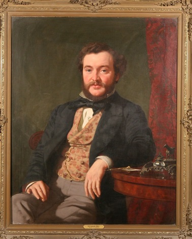 portrait of an esteemed gentleman by seymour joseph guy