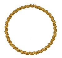 a garland necklace by frederico buccellati