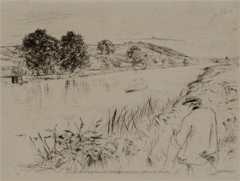 sketching no 1 by james abbott mcneill whistler