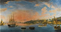 view over the bosphorus by continental school (19)