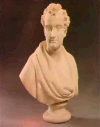 bust of lord byron by edward hodges baily