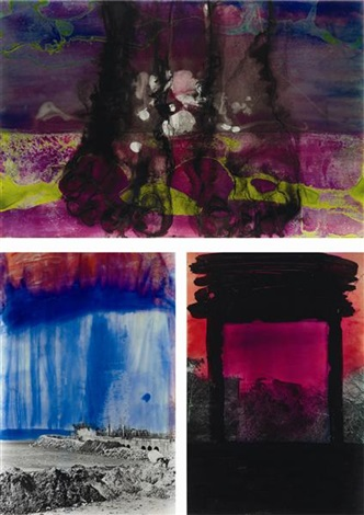 untitled in 3 parts by huma bhabha