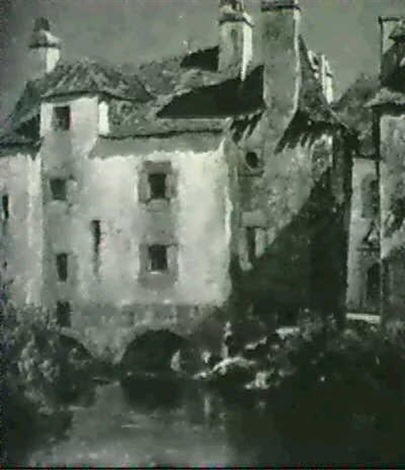 old houses pont aven by david maitland armstrong
