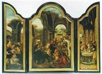 a triptych: by von groote
