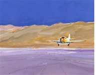 desert airfield by donald hamilton fraser