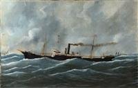 le ricel de la compagnie de navigation mixte par mer formée by édouard adam