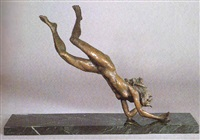 diving girl by susan bolinsky