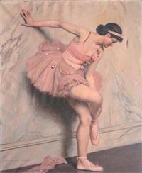 ballerine au repos by auguste leroux